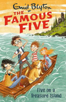 Famous Five: Five On A Treasure Island av Enid Blyton (Heftet)