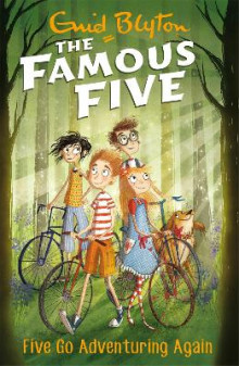 Five Go Adventuring Again av Enid Blyton (Heftet)