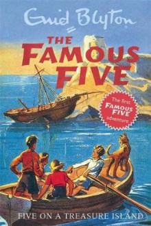 Five On A Treasure Island av Enid Blyton (Innbundet)