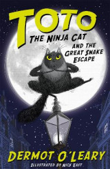 Omslag - Toto the Ninja Cat and the Great Snake Escape