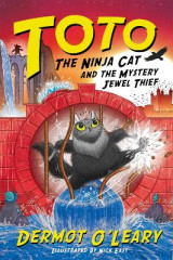 Omslag - Toto the Ninja Cat and the Mystery Jewel Thief