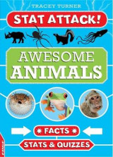 Omslag - EDGE: Stat Attack: Awesome Animals: Facts, Stats and Quizzes