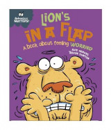 Omslag - Lion's in a Flap - A Book About Feeling Worried