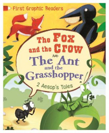First Graphic Readers: Aesop: the Ant and the Grasshopper & the Fox and the Crow av Aesop og Amelia Marshall (Innbundet)