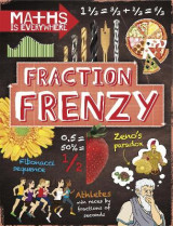 Omslag - Maths is Everywhere: Fraction Frenzy