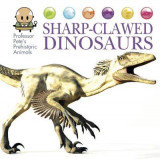 Omslag - Sharp-Clawed Dinosaurs