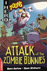 Omslag - EDGE: I HERO: Toons: Attack of the Zombie Bunnies