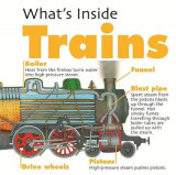 Omslag - What's Inside?: Trains