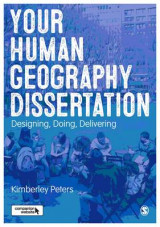 Omslag - Your Human Geography Dissertation