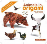 Omslag - Animals in origami