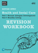 Omslag - BTEC First in Health and Social Care Revision Workbook: Revision Workbook