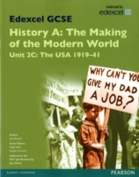 Edexcel GCSE History A the Making of the Modern World: Unit 2C USA 1919-41 SB 2013: Unit 2C av Jane Shuter (Heftet)