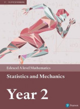 Omslag - Edexcel A level Mathematics Statistics & Mechanics Year 2 Textbook + e-book: Year 2