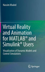 Omslag - Virtual Reality and Animation for Matlab and Simulink Users