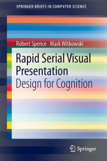 Rapid Serial Visual Presentation av Robert Spence og Mark Witkowski (Heftet)