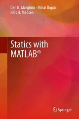 Omslag - Statics with MATLAB (R)