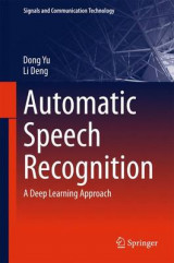 Omslag - Automatic Speech Recognition