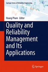 Omslag - Quality and Reliability Management and its Applications 2016