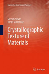 Omslag - Crystallographic Texture of Materials