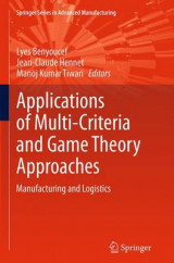 Omslag - Applications of Multi-Criteria and Game Theory Approaches