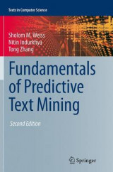 Omslag - Fundamentals of Predictive Text Mining