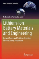 Omslag - Lithium-Ion Battery Materials and Engineering