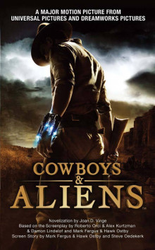 Cowboys & Aliens (Film Tie-In) av Joan D. Vinge (Heftet)