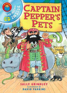 I am Reading with CD: Captain Pepper's Pets av Sally Grindley (Heftet)