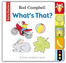 Early Starters: What's That? av Rod Campbell (Pappbok)