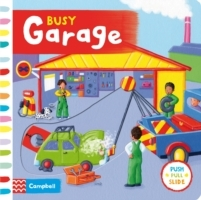 Busy Garage (Pappbok)