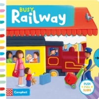 Busy Railway (Pappbok)
