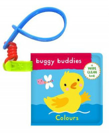 Wipe-Clean Buggy Buddies: Colours (Badebok)
