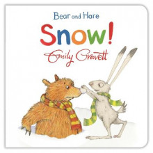 Bear and Hare: Snow! av Emily Gravett (Pappbok)