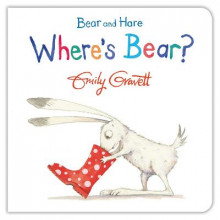 Bear and Hare: Where's Bear? av Emily Gravett (Pappbok)