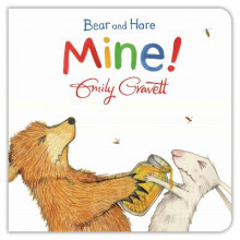 Bear and Hare: Mine! av Emily Gravett (Pappbok)