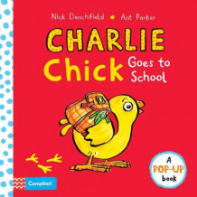 Charlie Chick Goes to School av Nick Denchfield (Innbundet)