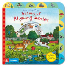 Axel Scheffler Treasury of Rhyming Stories av Axel Scheffler (Pappbok)