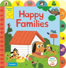 Happy Families av Campbell Books (Pappbok)