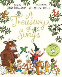A Treasury of Songs av Julia Donaldson (Innbundet)