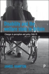 Omslag - Disability and the Welfare State in Britain
