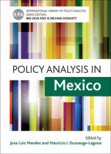 Omslag - Policy Analysis in Mexico