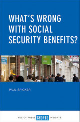 Omslag - What's Wrong with Social Security Benefits?