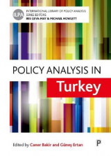 Omslag - Policy Analysis in Turkey