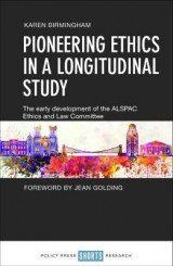 Omslag - Pioneering ethics in a longitudinal study