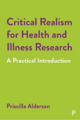 Omslag - Critical Realism for Health and Illness Research
