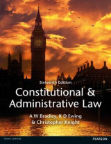 Omslag - Constitutional and Administrative Law MyLawChamber pack