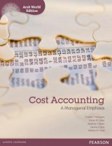 Omslag - Cost Accounting (Arab World Edition) with myaccountinglab Access Card