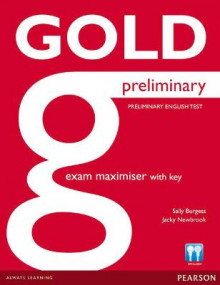 Gold Preliminary Maximiser with Key av Sally Burgess og Jacky Newbrook (Heftet)