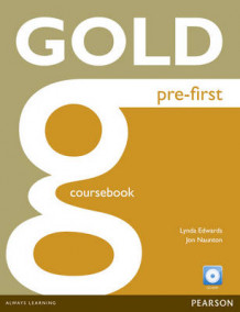 Gold Pre-first Coursebook and CD-ROM Pack av Jon Naunton, Lindsay Edwards og Lynda Edwards (Blandet mediaprodukt)