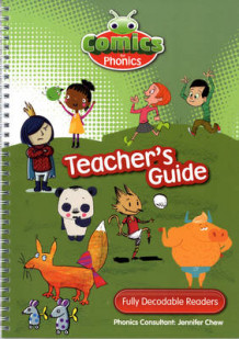 Comics for Phonics Teaching Guide (Spiral)